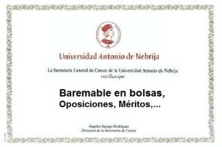 diploma nebrija